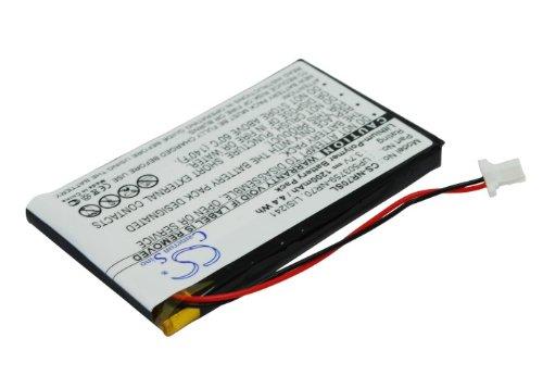 Akku passend zu Sony Clie PEG NX60, 1200mAh / 4,4Wh, 3,7V, Li-Po, Schwarz
