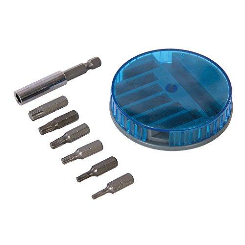 Silverline 962212 - Puntas para atornillar Torx, 7 pzas (7 pzas)