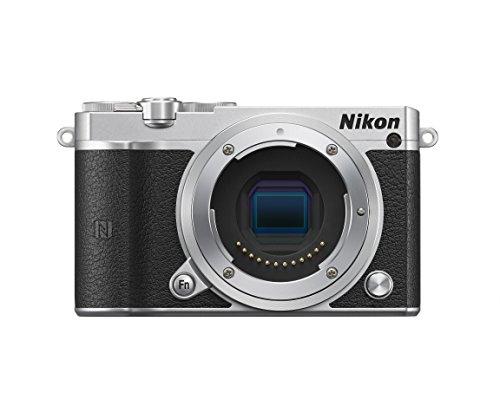 Nikon ミラーレス一眼 Nikon1 J5 ボディ シルバー J5SL
