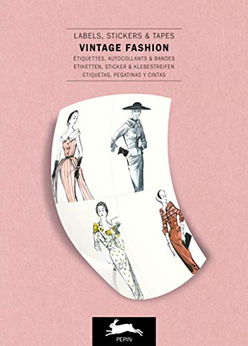 Vintage Fashion: Label and Sticker Book
