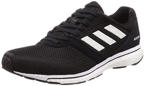 adidas Adizero Adios 4 Womens Running Fitness Trainer Shoe Black - UK 7.5