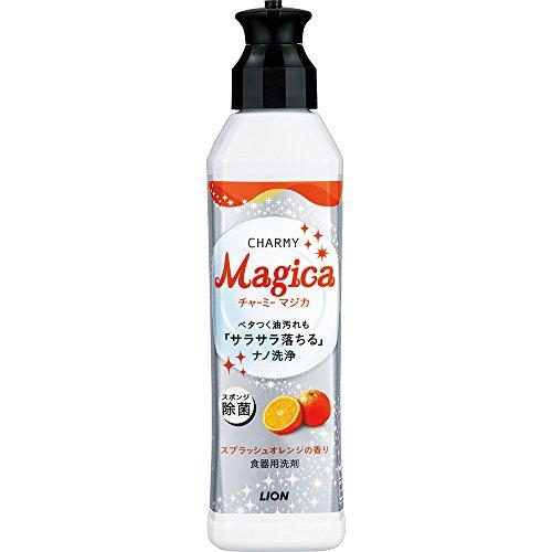 チャーミーマジカ 食器用洗剤 スプラッシュオレンジの香り 本体 230ml
