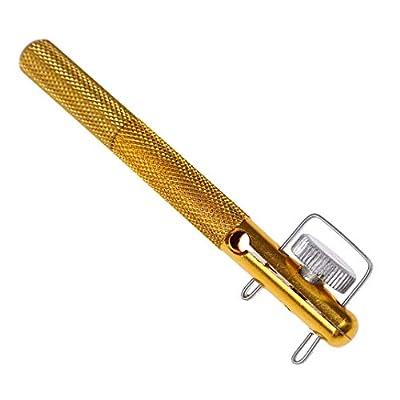 DYSCN Fish Tool Aluminum Alloy Fishing Hook Fishing Line Tool Manual Knot Tying Tool Sub-Line Knot-Tying Tool Fish Tool Hook Tie Device Strand Knotter