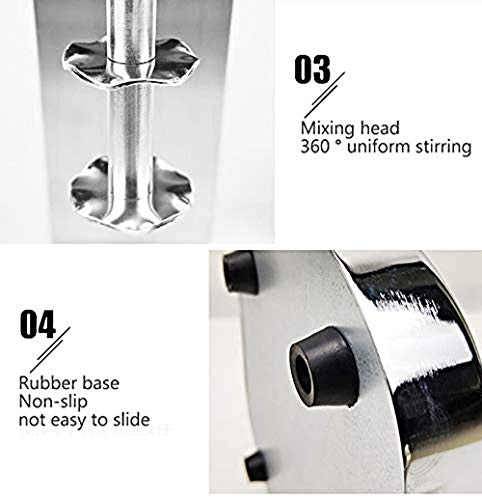 YJINGRUI Electric Milk Shaker Machine Drinks Mixer Commercial Milkshake Maker Machine Milkshake Mixer Blenders for…