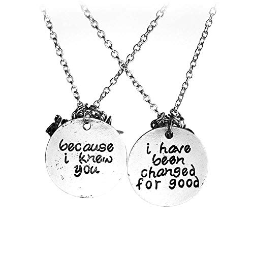 2 Pcs Fashion Jewelry Harley Quinn Necklace Alloy Pendant Necklace Suicide Squad Jewelry Men Women Personality Earring Joker Necklace