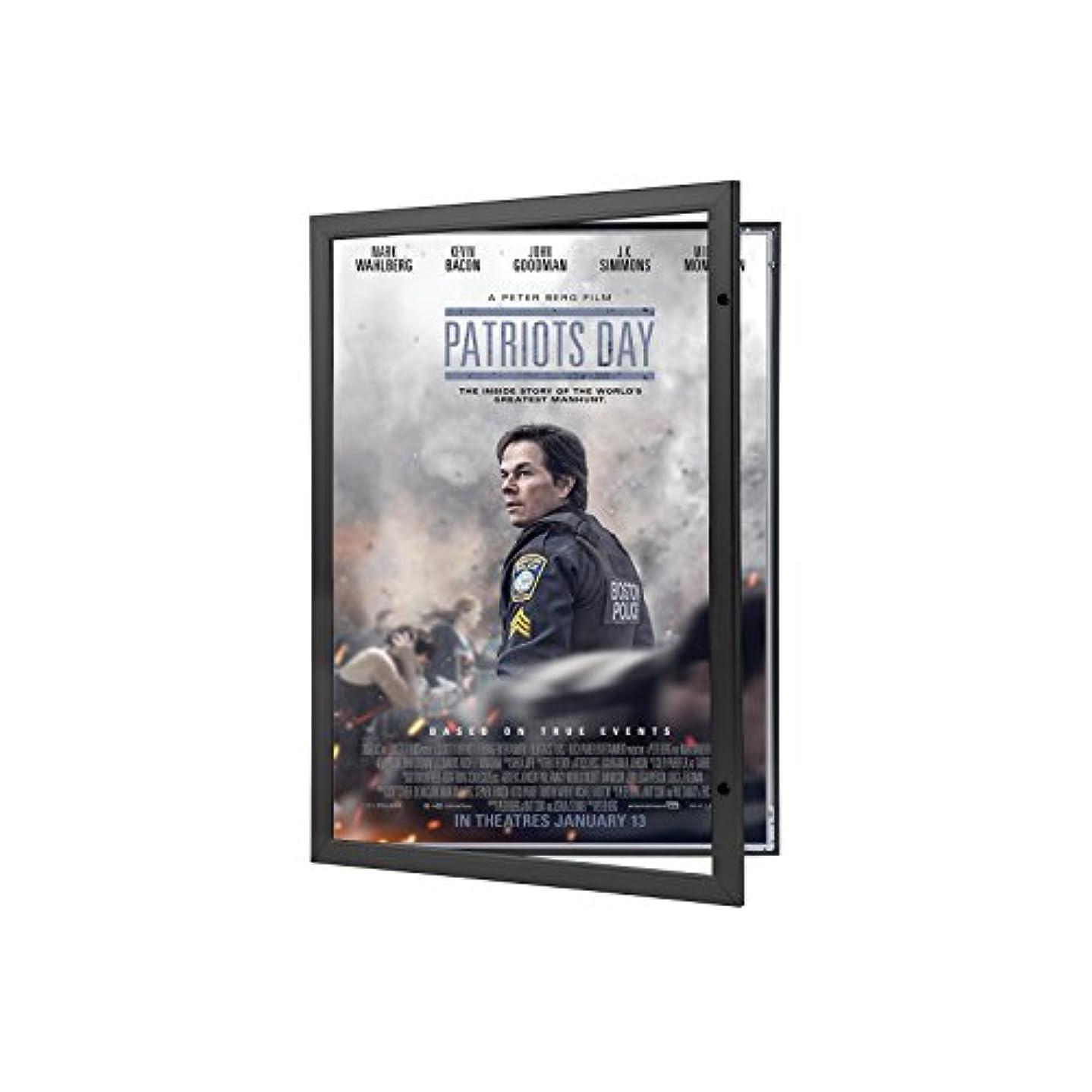 Movie Poster Case 27x40 Inches, Black SnapeZo 1.8