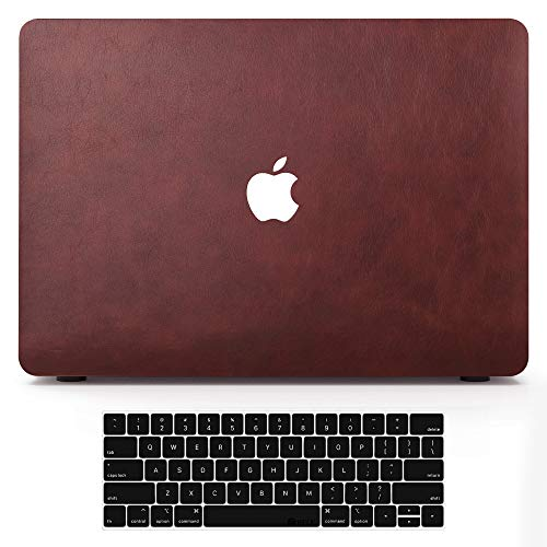Macbook Case (Pro13 A2251 A2289 A2159 A1989 A1706 A1708, Wine Red)