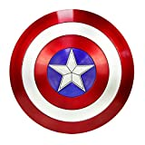 DMAR Captain America Shield 22 Inches Marvel Legends Escudo del Capitan America for Adult Avengers capt A Shield