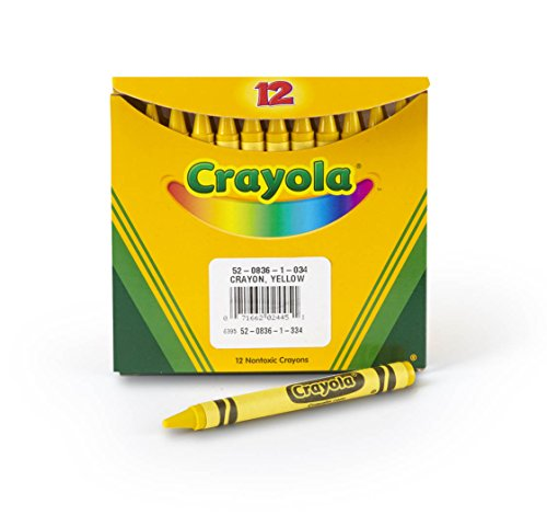 Crayola Bulk Crayons 12 Ct Yellow