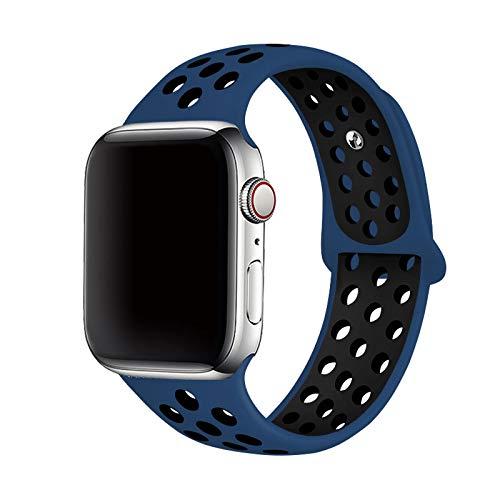 Correa de silicona para Apple Watch 6 5 4 SE Band 44 mm 40 mm Cinturón deportivo Brazalete Accesorios para brazalete para IWatch Series 321 38 mm 42 mm