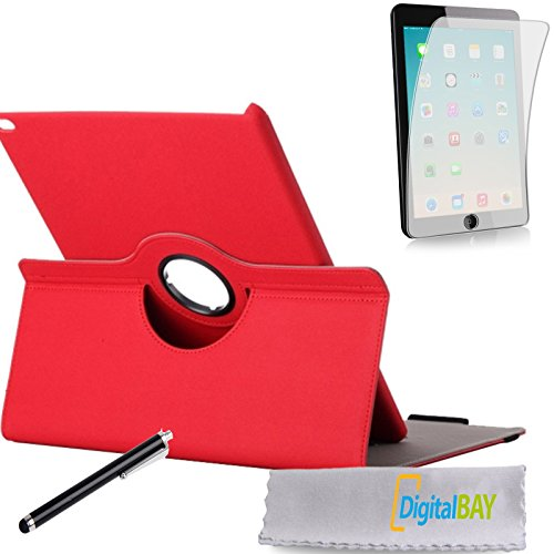 Custodia ROTABILE ROSSO Apple iPad Pro + PELLICOLA + pennino firmata Digital Bay