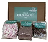 Hot Chocolate Gift Set Including 200g of Deluxe Belgian hot Chocolate Powder, a