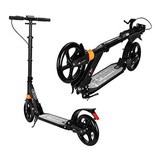 CCTG City-Roller Erwachsene Erwachsene Tretroller Mit Big Wheels, Quick-Release Faltsystem - Dual Suspension Commuter Scooter Mit Disc Handbrake- Unterstützt 220lbs, Nicht Elektrisch