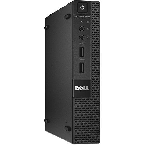 Dell OptiPlex 5050 Micro Form Factor (Intel Core i5-7600T, 16 GB DDR4, 256 GB SSD) Windows 10 Pro (Renewed)