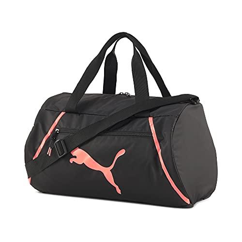PUMA At ESS Barrel Bag Pearl Handtasche, Damen, Schwarz, Einheitsgröße
