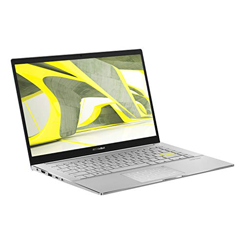 ASUS Metal VivoBook S433 Full HD 14' Laptop (Intel i5-1135G7, Nvidia MX350 Graphics Card, 8GB RAM, 512GB SSD, 32GB Intel Optane Memory, Windows 10) Includes LED-NumberPad, White Metal
