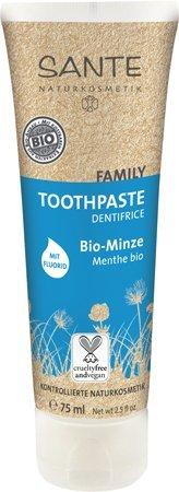 Sante Family Zahnpasta Zahncreme Bio Minze mit Fluorid 75 ml