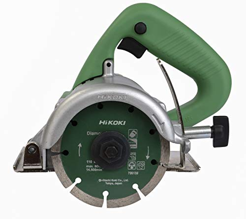 Hitachi CM4ST 110 mm 1300-Watt Wet Tile Cutter (Green)