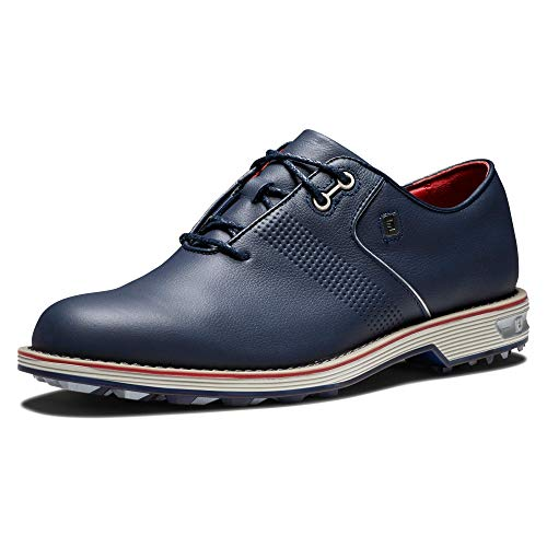 FootJoy Men's Premiere Series-Flint Golf Shoe, Navy, 9.5 Wide