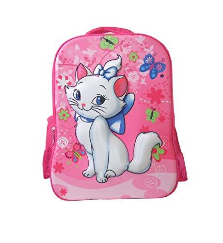 Kleinkinder Reiserucksack Kinder Rucksack Wander Rucksack Schul Rucksack (Pink - Katze)