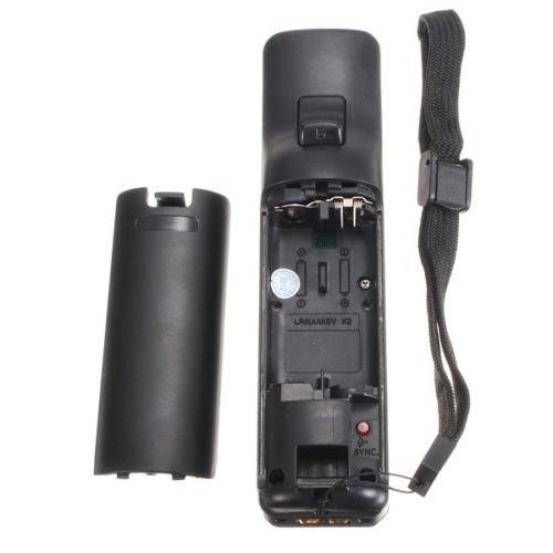 Black Remote Control Wiimote + Case+ Strap For Nintendo Wii Game Supply Accessories