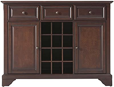 Crosley Furniture Lafayette Buffet Server Sideboard Cabinet With