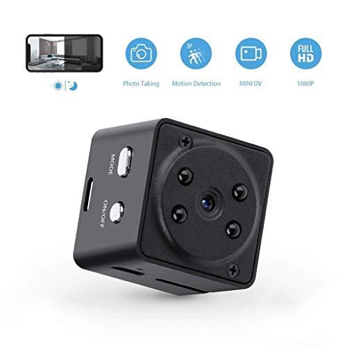 1080P cámara Oculta casa cámara de la niñera de la Seguridad, Metal de la Carcasa del Cuerpo magnético cámara Oculta, Super visión Nocturna portátil pequeña cámara de vigilancia inalámbrica