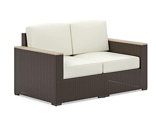 Home Styles Loveseat, Rattan, braun, 2 Seat