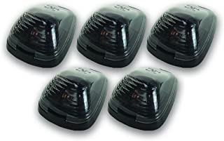 Pacer Performance 20-236S Hi-Five Smoke Ford Style Cab Roof LED Light Kit, (Pack of 5)
