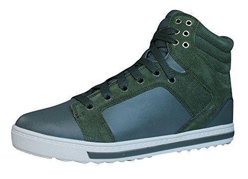 Skechers Damen Kicks Free Rider Sneaker, Grün - Vert (OLV), 36 EU