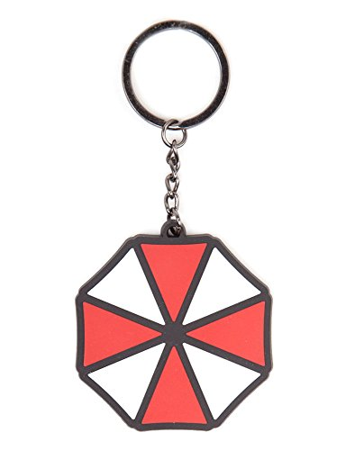 Bioworld Resident Evil Umbrella Logo Rubber Schlüssenanhänger