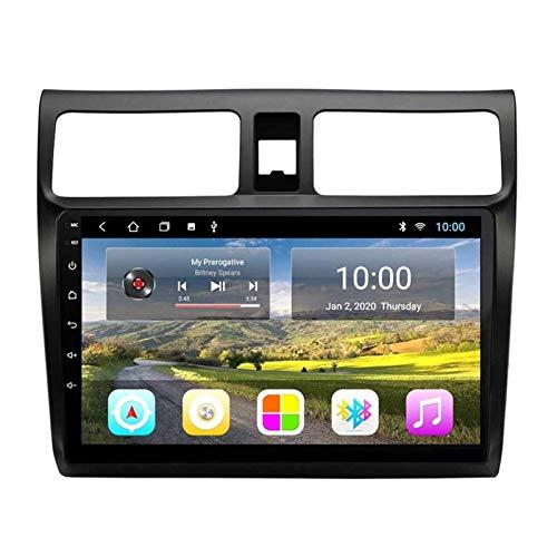 ZHANGYY 10.1 Pulgadas Android 8.1 Auto Radio Double DIN Head Unit Compatible con Suzuki Swift 2009-2018, Reproductor Multimedia, GPS/Bluetooth/FM/Control del Volante/cámara Trasera