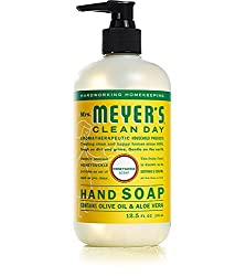 Mrs Meyers Clean Day Liquid Hand Soap Honeysuckle 12.5 oz