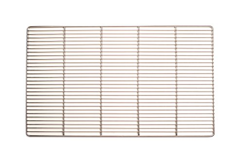 Edelstahl-Grillrost 67 x 40 cm …