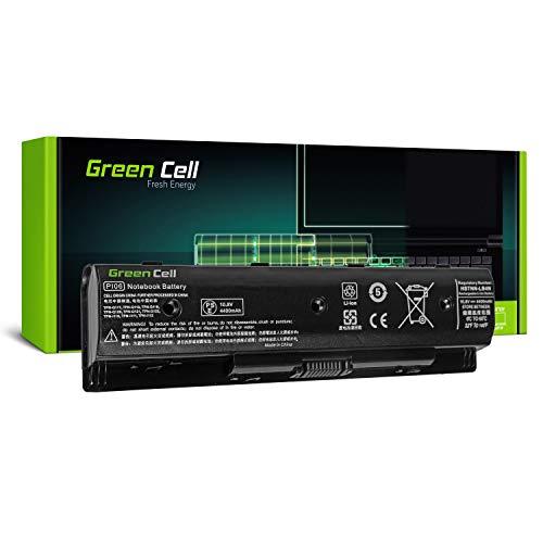 Green Cell Standard Serie PI06 PI06XL PI09 HSTNN-UB4N HSTNN-YB4N 710416-001 710417-001 Batteria per Portatile HP Pavilion 15 15-E 17 17-E HP Envy 15 15-J 17 17-J (6 Pile 4400mAh 10.8V Nero)
