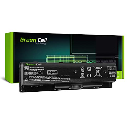 Green Cell Standard Serie PI06 PI06XL PI09 HSTNN-UB4N HSTNN-YB4N 710416-001 710417-001 Batería para HP Pavilion 15 15-E 17 17-E HP Envy 15 15-J 17 17-J Ordenador (6 Celdas 4400mAh 10.8V Negro)