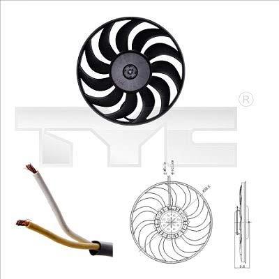 TYC 802-0051 - Ventilador de motor