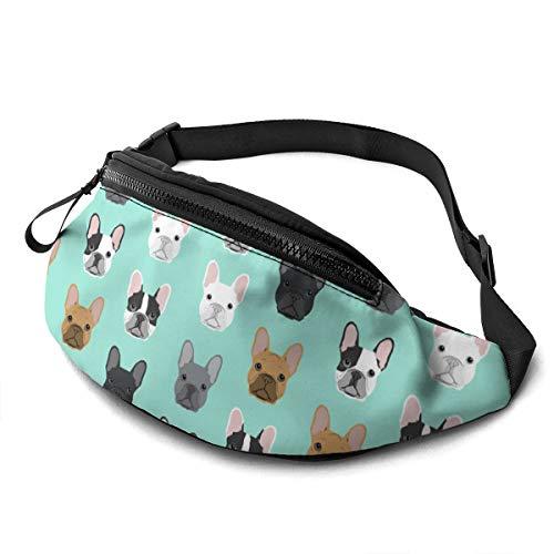French Bulldog Fanny Running Belt Waist Pack Bag