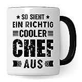 Jefe de la taza, para los empleados del jefe de la taza del jefe del supervisor, taza del café de la oficina, escalera, idea