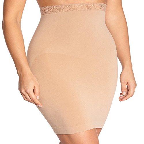 Body Wrap Plus Size High Waist Seamless Half Slip Firm Control Shapewear Women