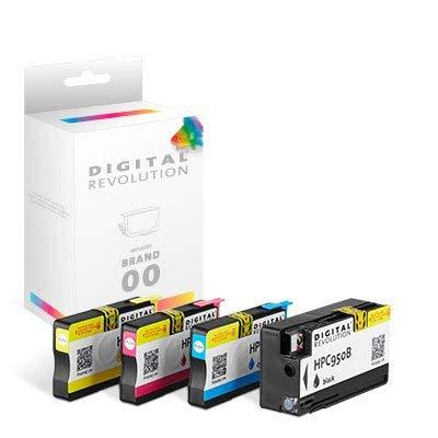 Digital Revolution, Tintenpatronen Multipack 'BCMY', 151 ml, Originalverpackte Markenpatrone, ersetzt: HP NO 950 (XL), NO 951 (XL), schwarz, Cyan, Magenta, gelb