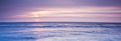 wandmotiv24 Pared Trasera de Cocina Olas de Playa al Atardecer 180 x 60 cm (W x H) - 3 mm de Espuma Protector de Salpicaduras de la Pared Posterior del nicho Reemplazo del Espejo del azulejo M0895