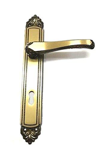 Maniglia (coppia) per porte interne FIORELLA con placca distanza 70