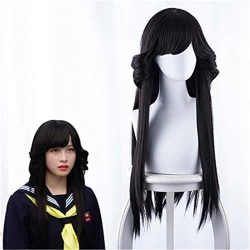 Tokyo from Today It's My Turn Hayagawa Kyoko Cosplay Peluca MujerNia Peluca de pelo largo y negro Kyou Kara Ore Wa Disfraz Pelucas