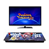 HAAMIIQII Pandora Treasure 9s Arcade Game Console - 3160 Retro Games Pre-Loaded, Search/Save/Hide/Delete Games, 1280x720P, 4 Players Online Game, 2 Player Game Controls