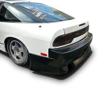 KBD Body Kits Compatible with Nissan 240sx HB 1989-1994 BSport2 Style 1 Piece Flexfit Polyurethane Rear Bumper. Extremely Durable, Easy Installation, Guaranteed Fitment, Made in the USA!