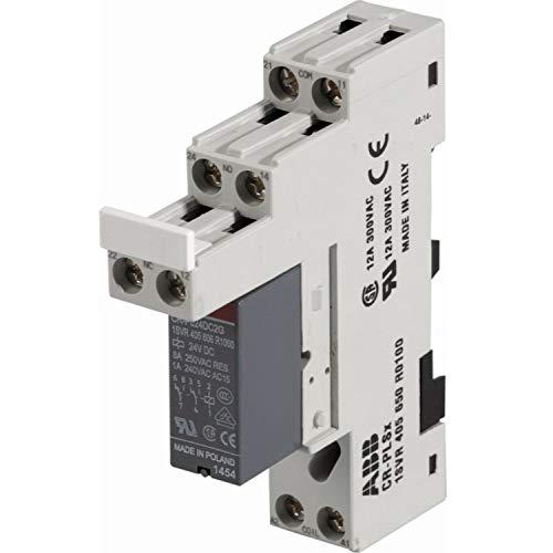 Módulo relé Smatrix H/C M-1XX 24V, 230V, cambio calefacción/refrigeración entre Smatrix y la fuente de energía, color blanco (referencia 1083577)
