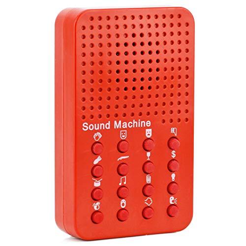 Mabax MEGA Sound Clash Box | Töne & Geräusch-Generator | Sound Machine | Fun auf Knopfdruck!