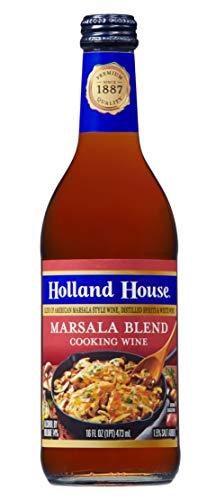 Holland House Marsala Cooking Wine, 16 oz, 7241201006