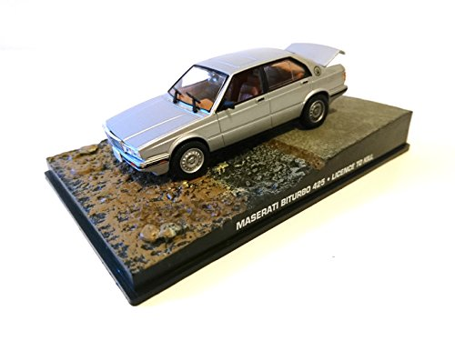 James Bond Maserati Biturbo 1986 007 Permis de tuer 1/43 DY038